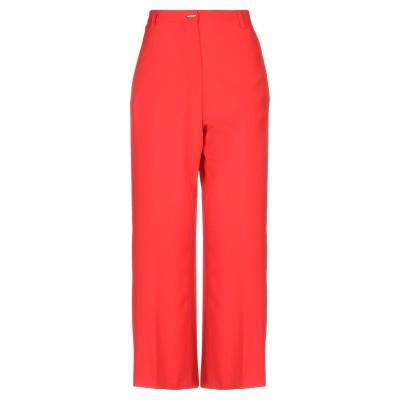 メルシー ..,MERCI パンツ レッド 40 ポリエステル 85% / 不織布(ビニール) 10% / ポリウレタン 5% パンツ