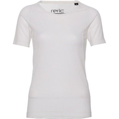 レリック レディース セミフィット ショートスリーブ Tシャツ ホワイト