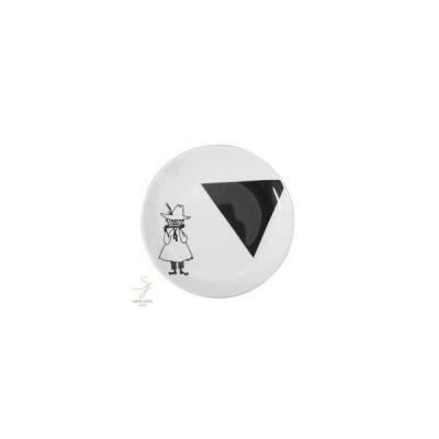 ムーミン モノクロシリーズ パンプレート 小皿 14.5cm(スナフキン)
