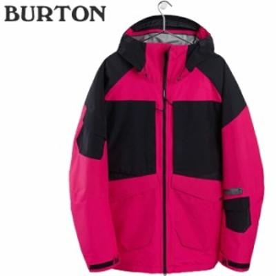 バートン ウェア ジャケット 20-21 BURTON GORE-TEX 2L BANSHEY JACKET Punchy Pink/True Black スノーボード ゴアテックス 日本正規品