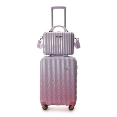 (& chouette/アンドシュエット)スーツケース≪Lunalux≫ 小/レディース ベビーピンク