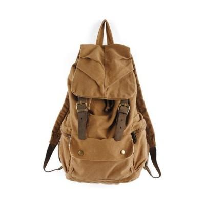 海外より出荷【並行輸入品】DRF Men's Casual Backpack in Canvas Vintage Style Rucksack for