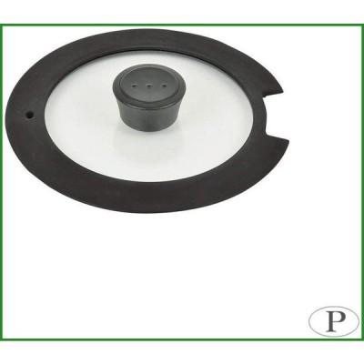パール金属 ルクスパン 18cm用ガラス蓋 HB-3586|b03
