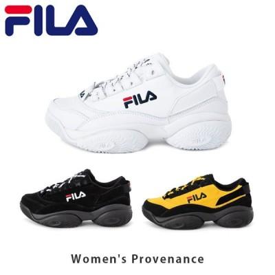 FILA フィラ レディース スニーカー プロヴィナンス ウィメンズ 靴 シューズ ファッション カジュアル 衝撃吸収 女性用 F0401 FILAF0401