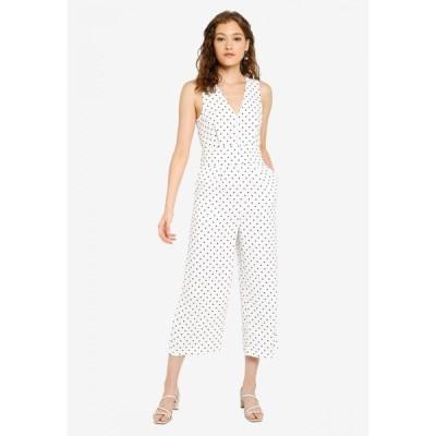 ウェアハウス Warehouse レディース オールインワン ジャンプスーツ ワンピース・ドレス Spot Jumpsuit Neutral Print
