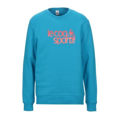 ルコックスポルティフ LE COQ SPORTIF スウェットシャツ アジュールブルー XXL コットン 77% / ポリエステル 23% スウェッ