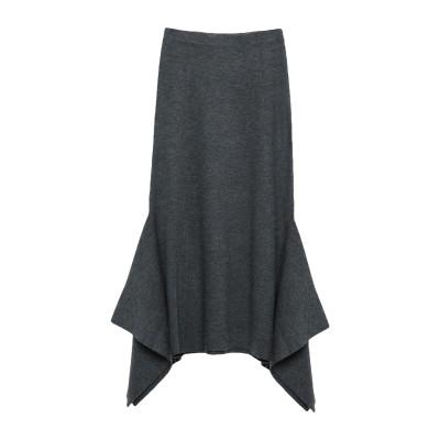SANDRO 7分丈スカート 鉛色 1 アクリル 40% / ウール 40% / ナイロン 17% / ポリウレタン 3% 7分丈スカート
