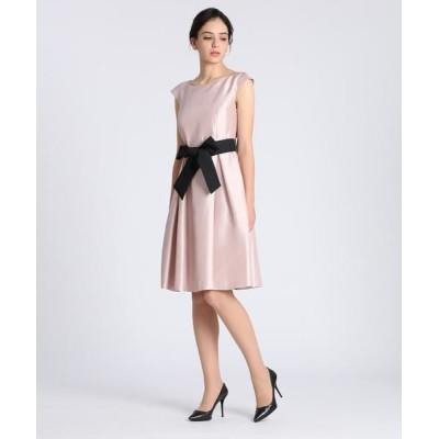 ef-de/エフデ 《Maglie Black》グログランリボンドレス ピンク1 11