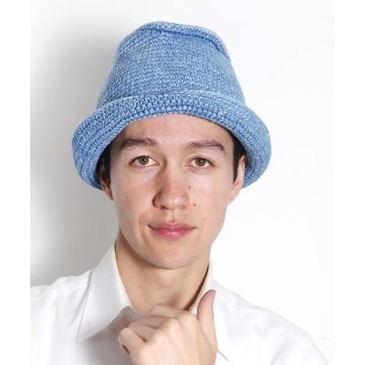 general design store / インディゴ ハンドニット ハット MEN 帽子 > ハット