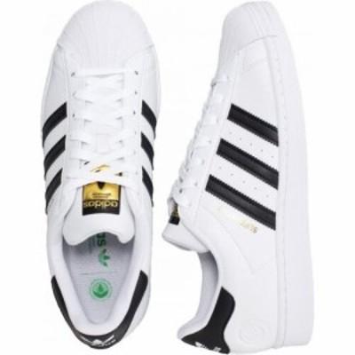 アディダス Adidas レディース スニーカー シューズ・靴 - Superstar Vegan Ftwr White/Core Black/Green white