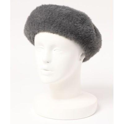 Right-on / 【RAG MACHINE】シャギーベレー WOMEN 帽子 > ハンチング/ベレー帽