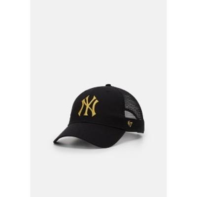フォーティーセブン メンズ 帽子 アクセサリー NEW YORK YANKEES BRANSON UNISEX - Cap - black black