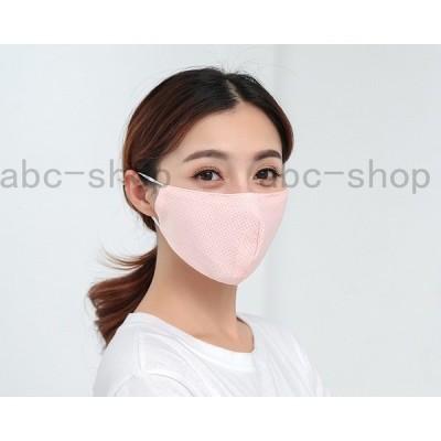 マスク夏用個包装ひんやり接触冷感飛沫防止洗えるマスク繰り返し使える通気男女兼用布耳に優しい