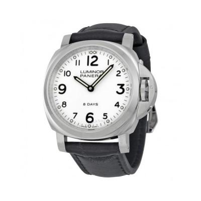 Panerai/パネライ メンズ 腕時計 Luminor Base 8 日s Acciaio Mechanical メンズ Watch PAM00561