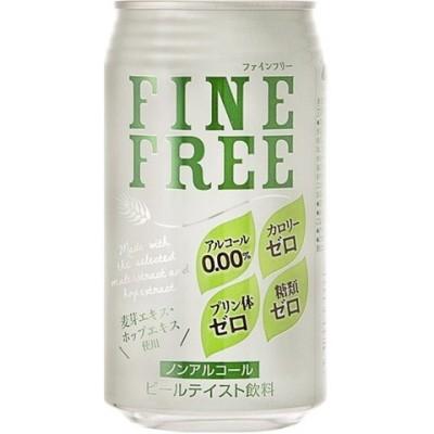 ファインフリー ノンアルコール ビルテイスト飲料 (350ml*24缶)