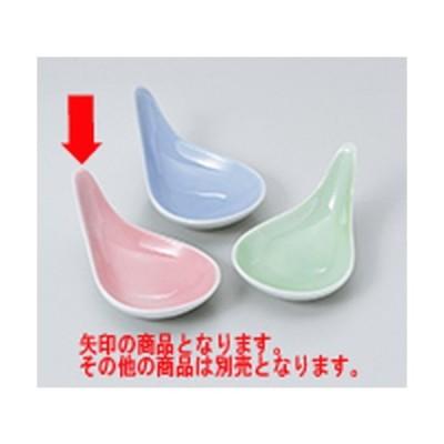 珍味 和食器 / しずく珍味 ピンク(314-02) 寸法:10 x 6 x 4.5cm