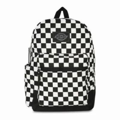 ディッキーズ バックパック・リュック Colton Backpack Black/White Check