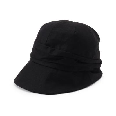 シューラルー SHOO-LA-RUE すっぽりキャスケット (ブラック)