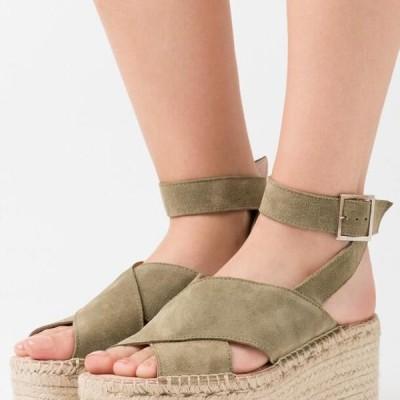 ザイン レディース サンダル High heeled sandals - khaki