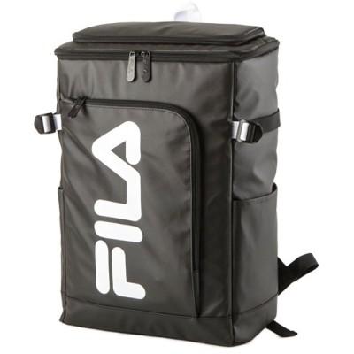 【カバンのセレクション】 フィラ FILA リュック レディース メンズ スクエア 30L 通学 大容量 おしゃれ 女子 ピンク 高校 新作 7577 ユニセックス ホワイト フリー Bag&Luggage SELECTION
