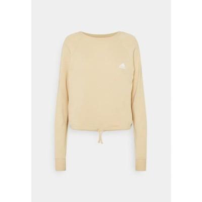 アディダス レディース スポーツ用品 Sweatshirt - hazbei/white