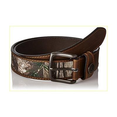 【並行輸入品】Real Tree Men's Leather Comfort Casual Belt, Brown/Camo, 38-40