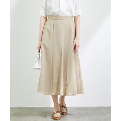 ViS / 【WEB限定】リネンライクフレアスカート WOMEN スカート > スカート