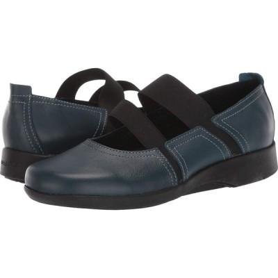 アルコペディコ Arcopedico レディース スリッポン・フラット シューズ・靴 Betsy Patrol Blue