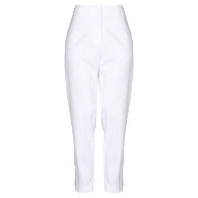 CAPPELLINI by PESERICO パンツ ホワイト 42 コットン 98% / ポリウレタン 2% パンツ