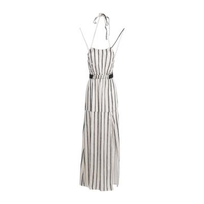 F**K PROJECT ロングワンピース&ドレス ベージュ L レーヨン 100% ロングワンピース&ドレス