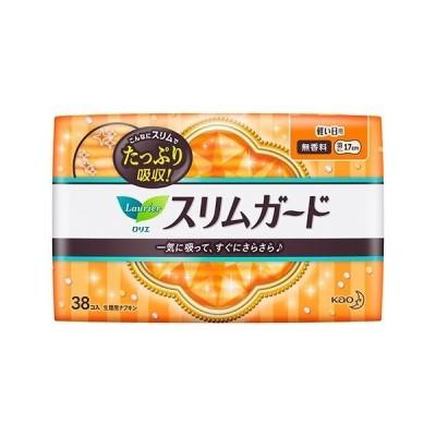 ロリエ スリムガード 軽い日用 ( 38個入 )/ ロリエ ( 生理用品 )