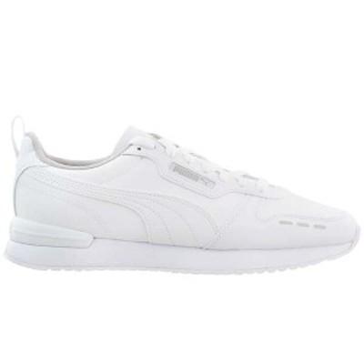 プーマ メンズ スニーカー シューズ Puma R78 Pack Lace Up Sneakers White