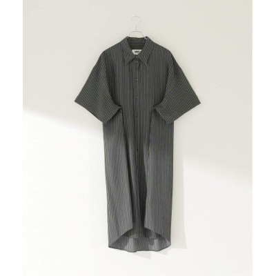 レディース ジャーナルスタンダード 【MM6 Maison Margiela】AVP STRIPED DRESS:ワンピース ブラック S