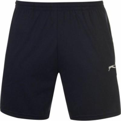 スラセンジャー Slazenger メンズ ショートパンツ ボトムス・パンツ Jersey Shorts Navy