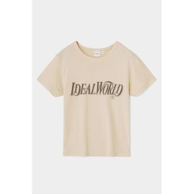 (moussy/マウジー)IDEAL WORLD Tシャツ/レディース IVOY3