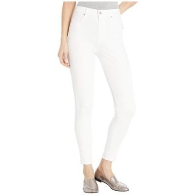 レディース パンツ High-Waist Ankle Skinny in Slim Illusion White