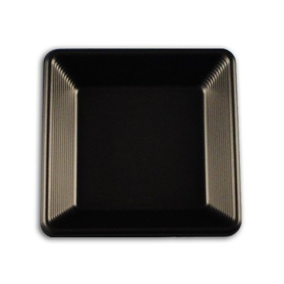 """""""送料無料/直送"""" SDスタイル SD FS12 ブラック 身 角皿中 (縦120 横120 高さ20) 1600枚"""