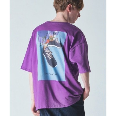 tシャツ Tシャツ rehacer : With Light Step on Over Size Body / ウィズライトステップ オンオーバーサイ