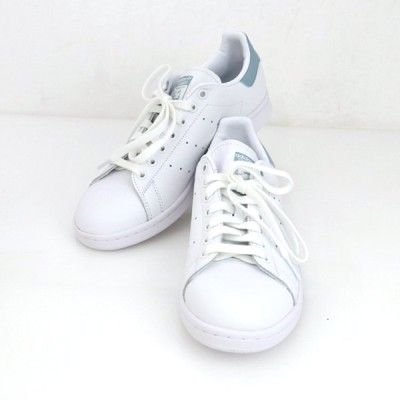 アディダス adidas スタンスミス テニスシューズ EE5797 メンズ レディース スニーカー 天然皮革 合皮 サイズ26【mo】【中古】