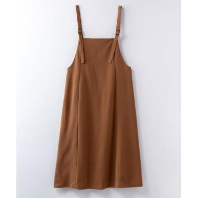 【大きいサイズ】 bitter syrup ジャンパースカート ワンピース, plus size dress