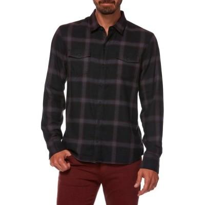 ペイジ メンズ シャツ トップス Everett Plaid Shirt DARK GARNET