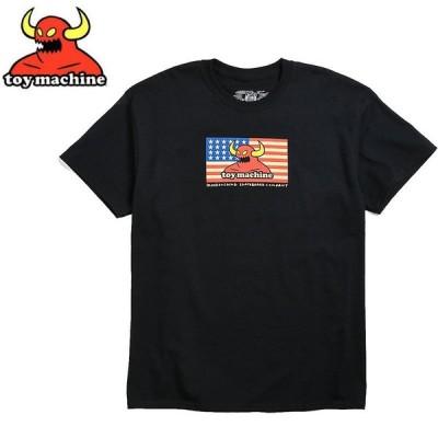 トイマシーン TOY MACHINE スケボー Tシャツ AMERICAN MONSTER TEE ブラック NO257