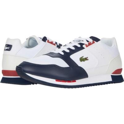 ラコステ Lacoste メンズ シューズ・靴 Partner Piste 0120 1 White/Navy