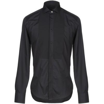 ブライアン デールズ BRIAN DALES シャツ ブラック 39 コットン 100% シャツ