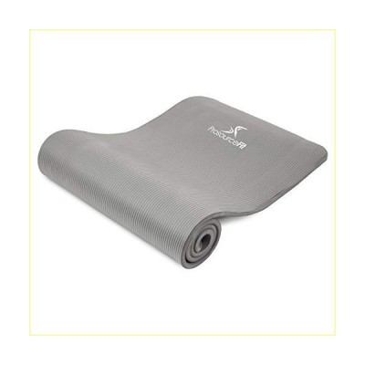 """ProsourceFit Extra Thick Yoga and Pilates Mat 1"""", High Density Comfort Foam with Carrying Strap【並行輸入品】"""