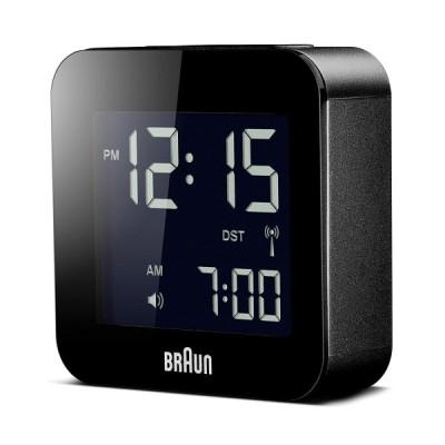 BRAUN デジタルクロック BNC008 ブラック アラーム 並行輸入品