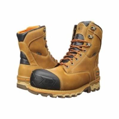 ティンバーランド Timberland PRO メンズ ブーツ シューズ・靴 8 boondock composite safety toe waterproof insulated Wheat Distressed