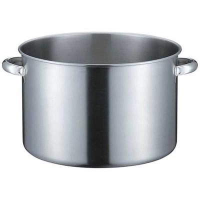 本間製作所 《IH対応》 KO 19−0 半寸胴鍋(蓋無) 33cm <AHVD803>