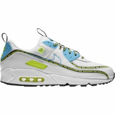 ナイキ メンズ エアマックス90 Nike Air Max 90 スニーカー White/Blue Fury/Black