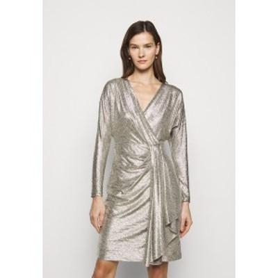 ラルフローレン レディース ワンピース トップス Cocktail dress / Party dress - beige/gold beige/gold